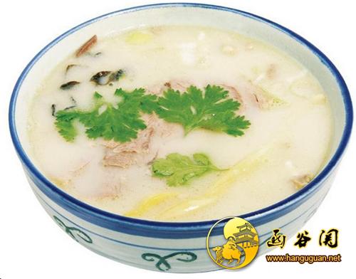 灵宝羊肉汤-函谷关旅游网hanguguan